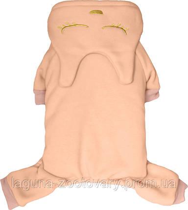 """""""Меджик Кітті"""", рожевий, розміри M, L, теплий комбінезон для собак, фото 2"""