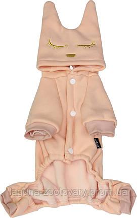 """""""Меджик Китти"""", розовый, размеры  M, L, теплый комбинезон для собак, фото 2"""