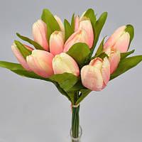 Букет из тюльпанов нежно розовый