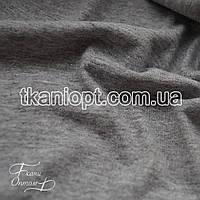 Ткань Кулир однотонный в пачках 140 gsm  (светло-серый меланж)