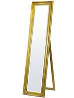 Зеркало напольное в золотой рамке VICTORY