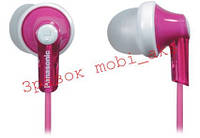 Навушники Panasonic RP-HJE118GU-P рожеві