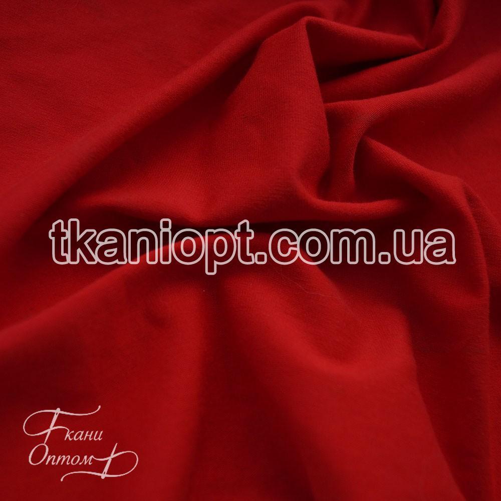 Ткань Кулир пенье 165 gsm в рулонах (красный)