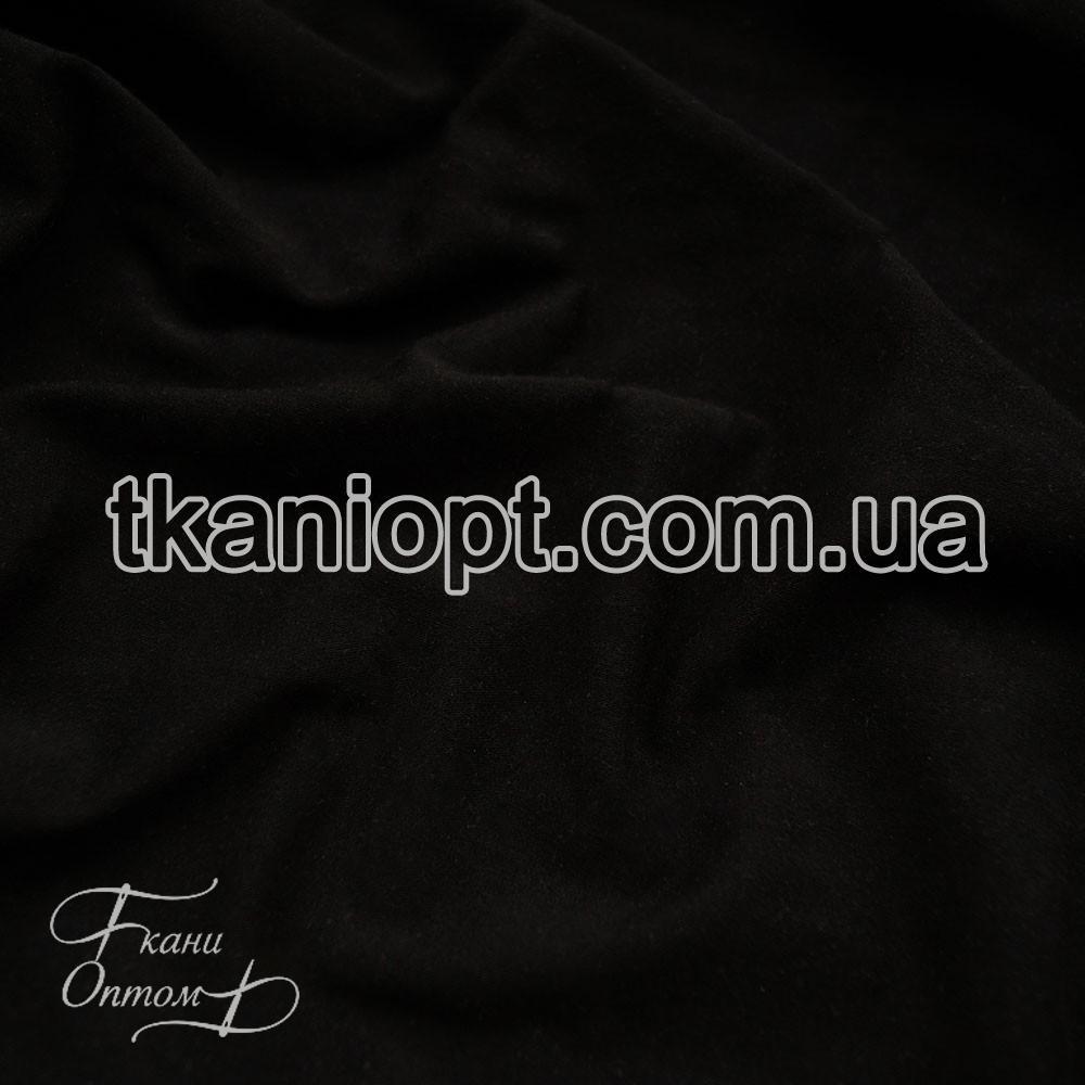 Ткань Кулир пенье в рулонах 220 gsm (черный)