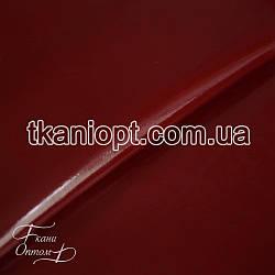 Ткань Лакированный кожзам плотный(бордовый)