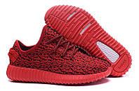 Женские кроссовки Adidas Yeezy Boost 350 Low Red, фото 1