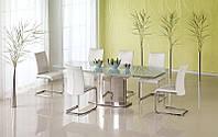 Стеклянный обеденный стол Alessandro (Halmar)