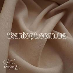 Ткань Лен габардин (светло-бежевый)