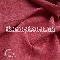 Ткань Лен габардин (розовый)