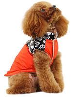 """Куртка """"Стрит Стайл"""", оранжевый, размеры XS, S, M , L, XL, для собак и щенков"""