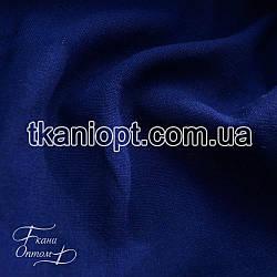 Ткань Лен натуральный (электро-синий)