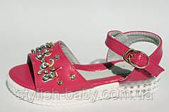 Детская летняя обувь. Детские босоножки бренда W.niko для девочек (рр. с 27 по 32)
