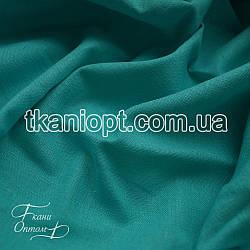 Ткань Лен натуральный (мята)