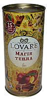 Подарочный чай Lovare Магия тепла, тубус, 80 г