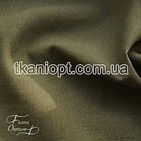 Ткань Лен натуральный (хаки)