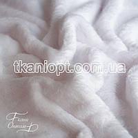 Ткань Махра (велсофт)  белый