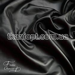 Ткань Масло кожа (черный)