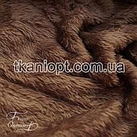 Ткань Махра (велсофт) капучино