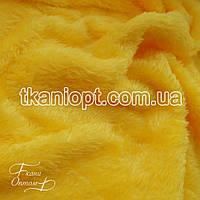 Ткань Махра (велсофт) желтый
