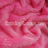 Ткань Махра (велсофт) розовый