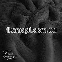 Ткань Махра (велсофт) темно-серый
