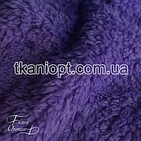 Ткань Махра (велсофт) сиреневый
