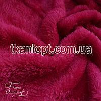 Ткань Махра (велсофт) фуксия