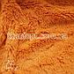 Ткань Мех травка 18 мм (рыжий), фото 2