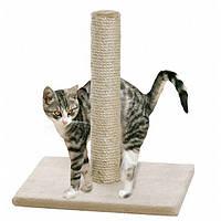 Когтеточка столбик для кошек, бежевый, высота 59см Karlie-Flamingo +Бесплатная доставка!
