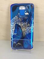 Силиконовый чехол для Samsung S5 (G900) (Butterfly)