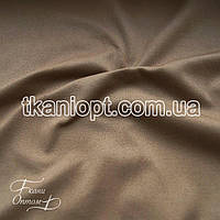 Ткань Неопрен замша (бежевый)