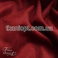 Ткань Неопрен замша (марсала)