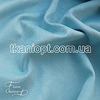 Ткань Неопрен замша (светло-голубой)