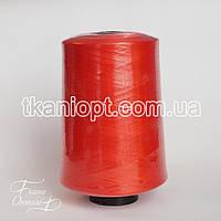 Ткань Нитки для оверлока 150D/1 ( красный )