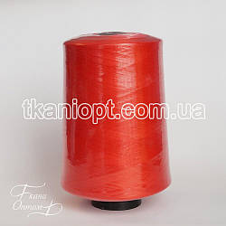 Ткань Нитки для оверлока 150d/1 (красный)
