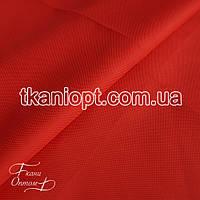 Ткань Оксфорд 600d pu красный (210 gsm)