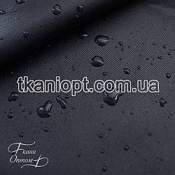 Ткань Оксфорд 600d pu темно-синий (210 gsm)