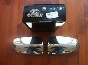 Накладки на зеркала Audi A6 (2004-2008)