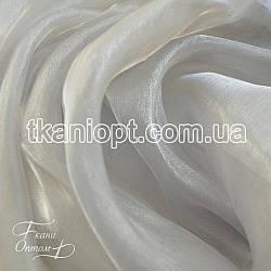 Ткань Органза (светло-серый)