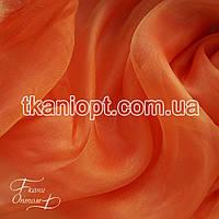 Ткань Органза (оранжевый)