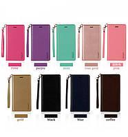 """Samsung G532 J2 Prime оригинальный чехол книжка противоударый иск. КОЖА с карманами для телефона """"GSM SL"""""""