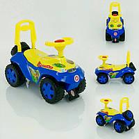 Машинка для катания Ориоша |Дракоша| жёлто-синяя, Орион 198
