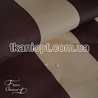Ткань Палаточная ткань оксфорд 210D бежево-коричневый (105 gsm)