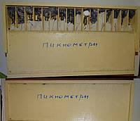 Пикнометр с муфтой и колпачком КШ 10/19, стекло ХС3 (набор из 16 штук)