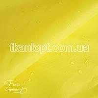 Ткань Палаточная ткань оксфорд 210D желтый (105 gsm)