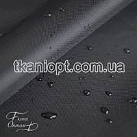 Ткань Палаточная ткань оксфорд 210D черный (105 gsm)