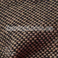 Ткань Пальтовая ткань твид (коричневый)