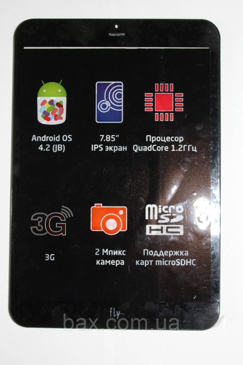 Fly FlyLife Connect 7,85 3G Slim сенсор черный с рамкой