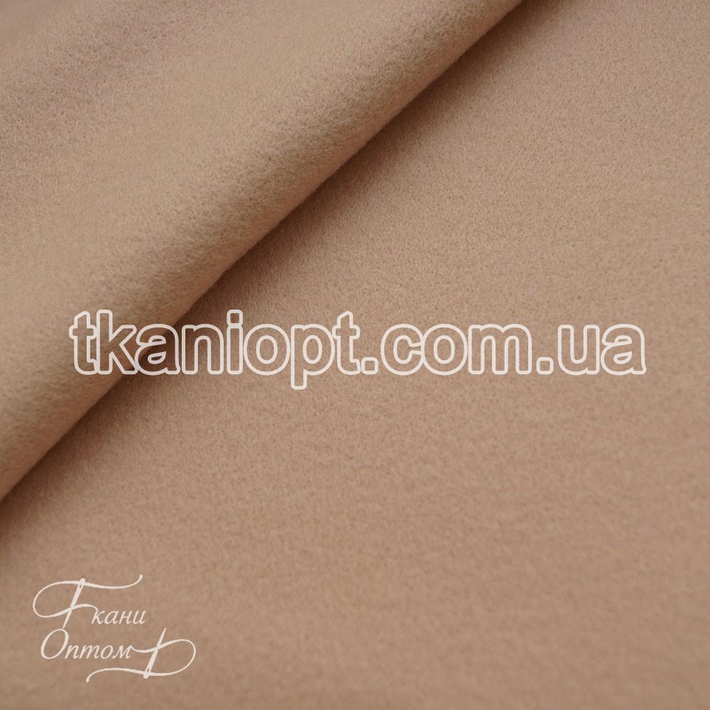 Ткань Пальтовая ткань шерсть кашемир (светло-персиковый)