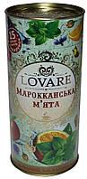 Чай в подарочной упаковке Lovare Марокканская мята, тубус, 80 г